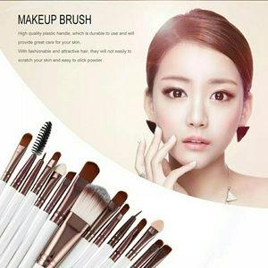 15pcs/set Makeup Brushes Sets Kit Eyelash Lip Foun